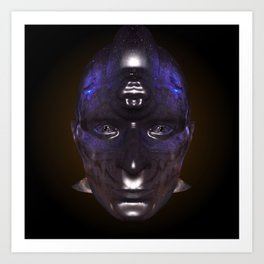 Looking into a Taino's eye's Art Print