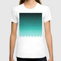 ombre T-shirts featuring Ombre squares by eARTh