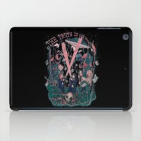 mulder iPad Cases featuring Out There by Taylor Rose