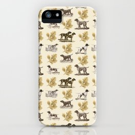 Pointers pattern iPhone Case
