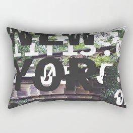 GLITCH CITY 2 #13: New York Rectangular Pillow
