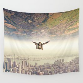 Diving to the Parallel Worlds Wall Tapestry