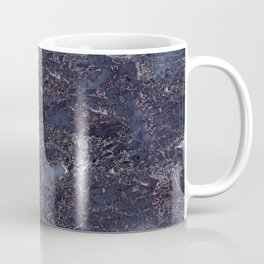 Blue marble pattern Coffee Mug