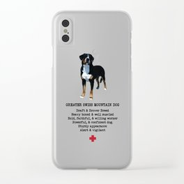 Breed Standard Clear iPhone Case