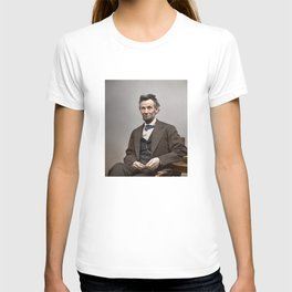 Abraham Lincoln Painting T-shirt