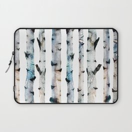 New Birch Trees Forest Laptop Sleeve