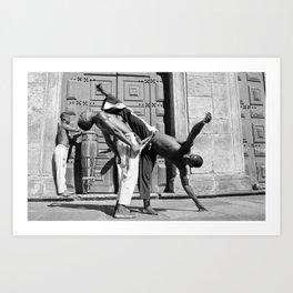 Capoeira c.1996 Art Print