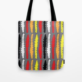 Coloured Worms Tote Bag