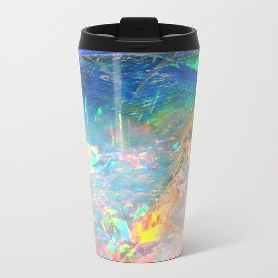 Ocean Opal Metal Travel Mug