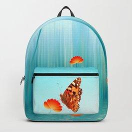 Spring Blue Backpack