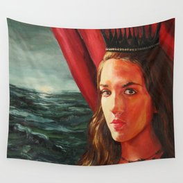 The Black Crown Wall Tapestry