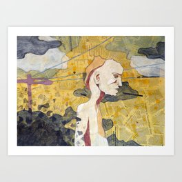 Edge of Conscious  Art Print