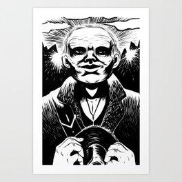 The Judge Art Print