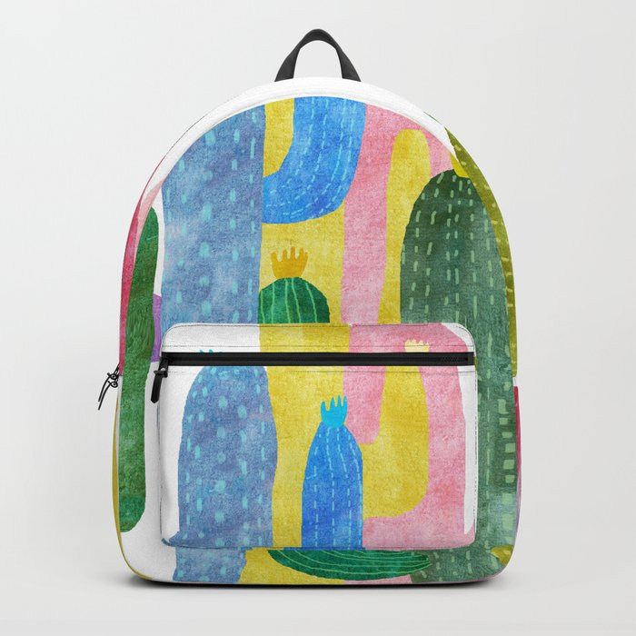 color cactus Backpack