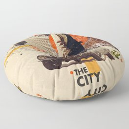 The City 1968 Floor Pillow