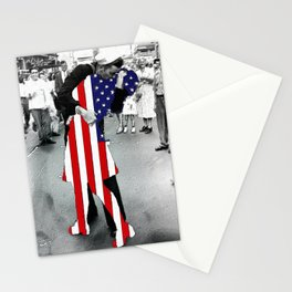 American Woman Acrylic World War 2 Kissing Kiss War Is Over Times Square New York Gift Idea Apparel Stationery Cards