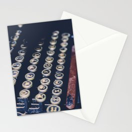 typewriter keys Stationery Cards