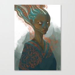 AquaRed Canvas Print