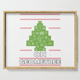Oh Geometree Serving Tray