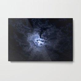 Full moon at night Metal Print