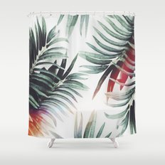 Vintage plants Shower Curtain