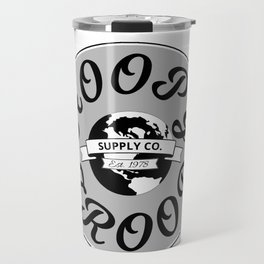 Hitchhiker's Guide Hoopy Frood Towel Supply Co. by WIPjenni Travel Mug