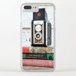 Vintage Kodak Clear iPhone Case