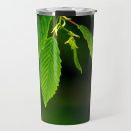 Glowing green Travel Mug