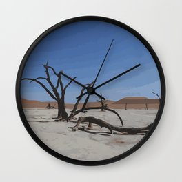 Deadvlei - Namibia Wall Clock