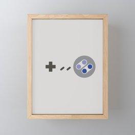 Sweaty Buttons 1990 Framed Mini Art Print