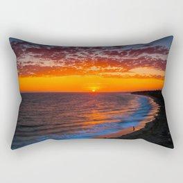 Sunset @ Crystal Cove Rectangular Pillow