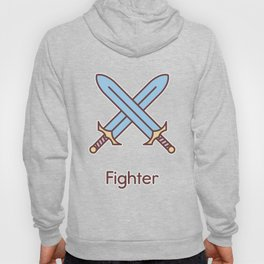 Cute Dungeons and Dragons Fighter class Hoody
