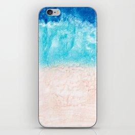 Ocean beach iPhone Skin