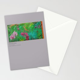 Waterfalls and Orchids Notecard set Stationery Cards