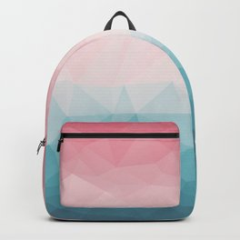 The Colorful Low Poly I Backpack