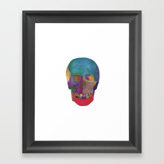 Memento color Framed Art Print