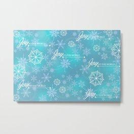 Snow Joy Metal Print