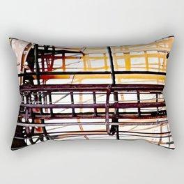 burning glases Rectangular Pillow
