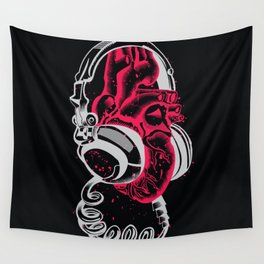 Listen to your heart Wall Tapestry