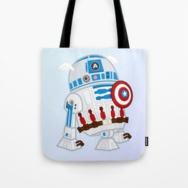 Captain R2D2 Tote Bag