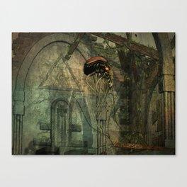 In alien Territory Canvas Print