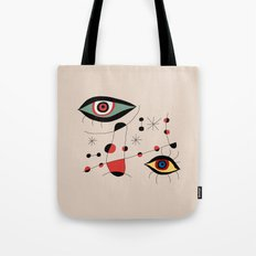 Tribute to J. Mirò (n.1) Tote Bag