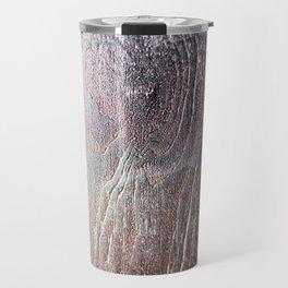 Black Wood Travel Mug