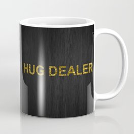 Hug Dealer | Gold foil Coffee Mug