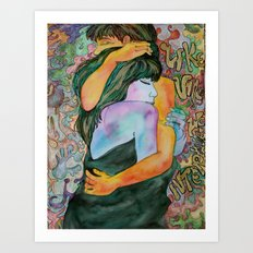 Couple of Lovers Art Print