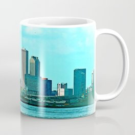 New Orleans Skyline (video game graphic style) Coffee Mug