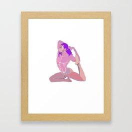 Soul Gymnast Framed Art Print