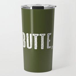 Deer: Butte, Montana Travel Mug