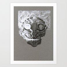 Escaping Soul Art Print