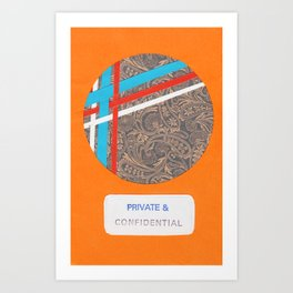 Private and Confidential Art Print
